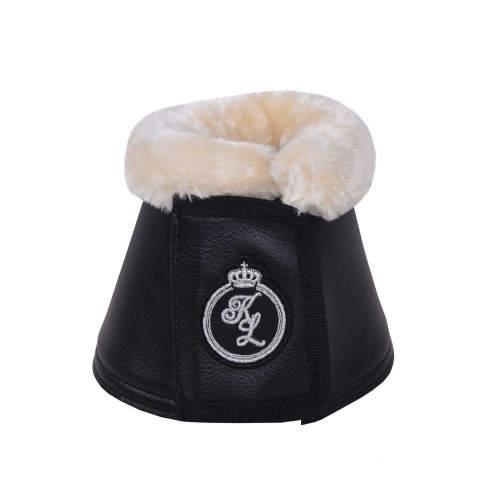 Kingsland - Hufglocken Davis fake fur in schwarz