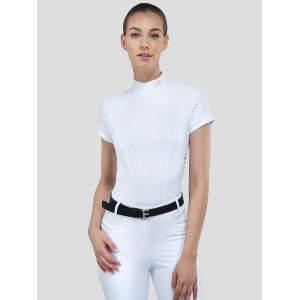 Damenturniershirt Loras in weiß