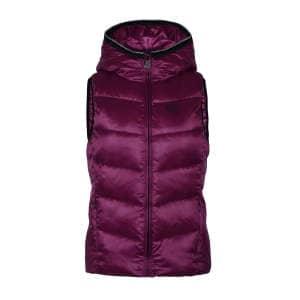 Damenweste Luc body warmer in pink