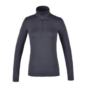 Damen-Fleecepullover Lowa in grey
