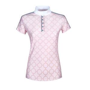 Damen-Turnier-Poloshirt Belen in pink