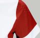 Thumbnail Turniershirts: Damen-Turnier-Poloshirt Heather in fire red/weiß  194MH00747-FIRERED von Equiline