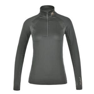 Trainingsshirt Damen KLdaniella in grün/grau
