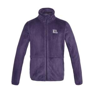 Fleecejacke Kinder KLdane in lila