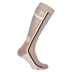Socken HVPMaud in Dark Taupe Heather