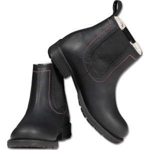 Jodhpurstiefelette Classic Winter Kids in schwarz
