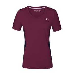 T-Shirt Damen KLjaslyn in bordeaux