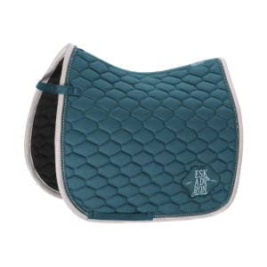 Schabracke COTTON EMBLEM (Classic Sports HW19) in tealblue