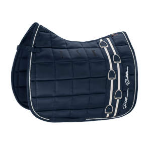 Schabracke Platinum Big Square Glossy in navy