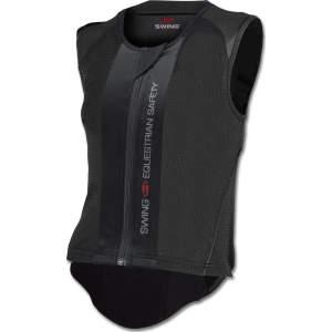 Rückenprotektor P06 flexible für Erwachsene in schwarz