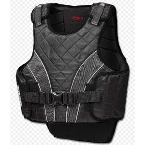 Sicherheitsweste P11 flexible für Erwachsene in schwarz/grau