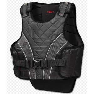 Bodyprotector P11 flexible für Kinder in schwarz/grau