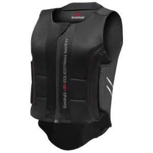 Rückenprotektor P07 flexible für Erwachsene in schwarz