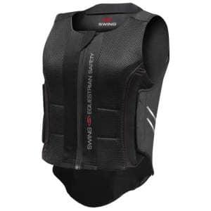 Rückenprotektor P07 flexible für Kinder in schwarz