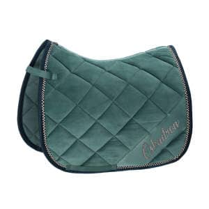 Schabracke Velvet Crystal (Classic Sports FS19) in seapine green