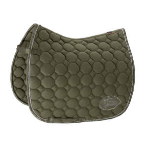 Schabracke Platinum Cotton Emblem in martini-olive