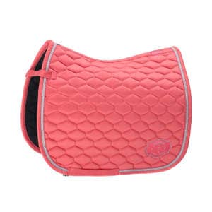 Schabracke Glossy Emblem (Classic Sports FS19) in fusion coral