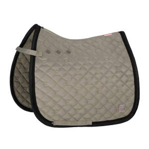 Schabracke Glossy Quilted (Heritage 20/21) in ivorygrey