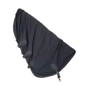 Halsteil für Netzdecke in schwarz