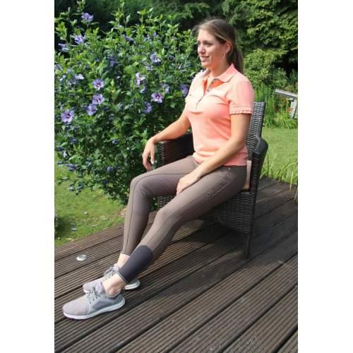 Pikeur - Damenreithose Kira Komfort Grip in bronze