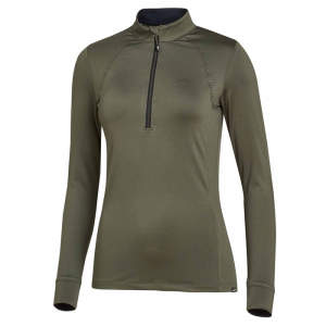 Funktionsshirt Damen Page Style in olive