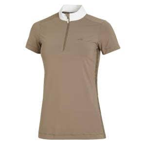 Turniershirt Damen Coco Style in taupe