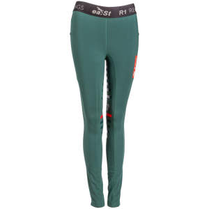 Reitleggings REGGINGS® R1 in dark green
