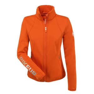 Fleece-Jacke Cara in mandarin