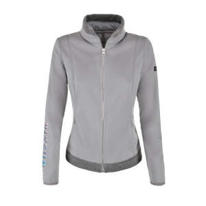 Fleecejacke Hyli in silver grey