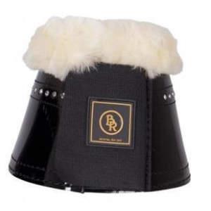 Hufglocken Glamour Lacquer Sheepskin in schwarz