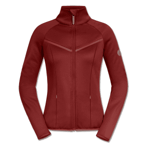 Fleecejacke Damen Cologne in rubinrot
