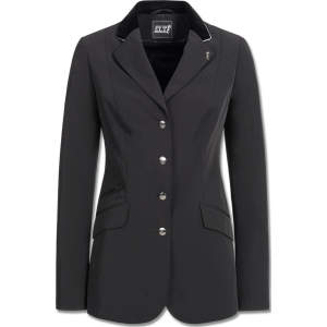 Turnierjacket Damen London in schwarz/silber Biese