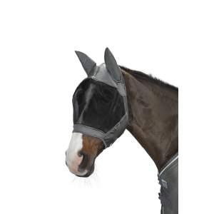 Fliegenmaske Fly Mask in grau