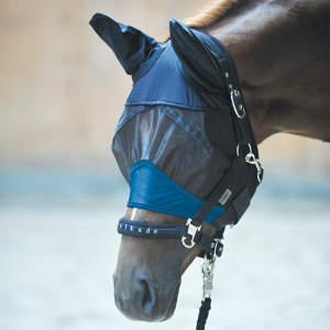 Fliegenmaske Fine in schwarz-royal