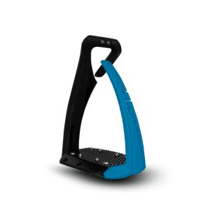 Sicherheitssteigbügel Soft Up Pro + in blau/schwarz