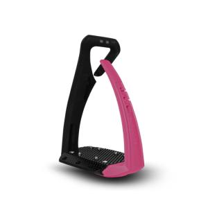 Sicherheitssteigbügel Soft Up Pro + in pink/schwarz