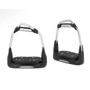 Steigbügel Airs 10-30 in schwarz