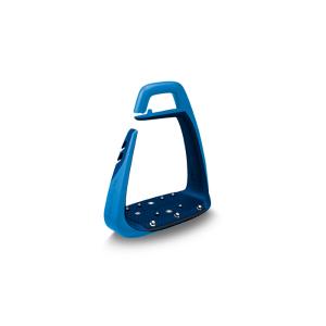 Sicherheitssteigbügel Soft Up Classic in blau/navy