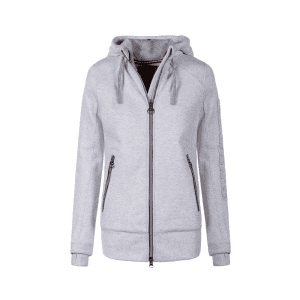 Damensweatjacke Oddi in silver