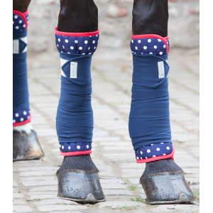 Bandagierunterlagen Unicorn in nachtblau