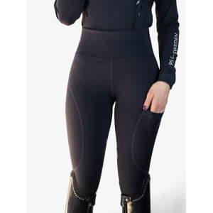 Reitleggings Damen Taylor mit Voll-Grip in navy