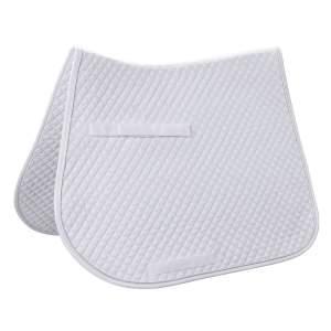 Dressurschabracke in weiß