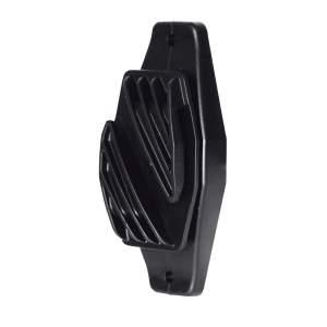 Breitbandisolator schwarz 40mm, 12 Stück im Blister