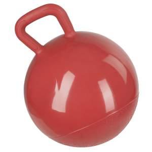 Spielball für Pferde in rot