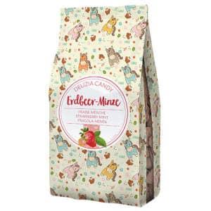 Leckerlies Delizia Candy Erdbeere/Minze, herzform, Größe: 600gr.