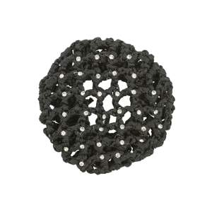 Haarnetz Gloss in schwarz
