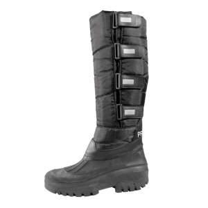 Thermo-Stiefel in schwarz, Größe 45/46