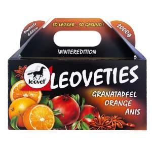 Leoveties Winteredition mit Granatapfel, Orange, Anis