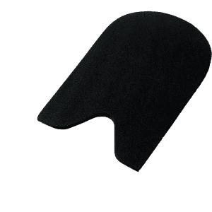 Sattelunterlage Rise Up Pad in schwarz