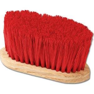Fell- und Mähnenbürste in rot